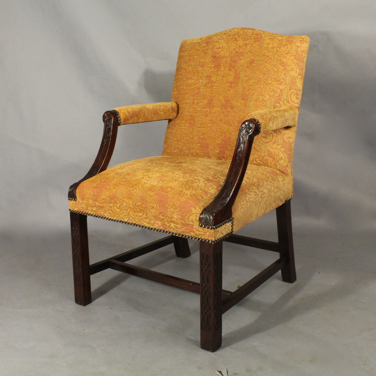 Blind Fret Armchair