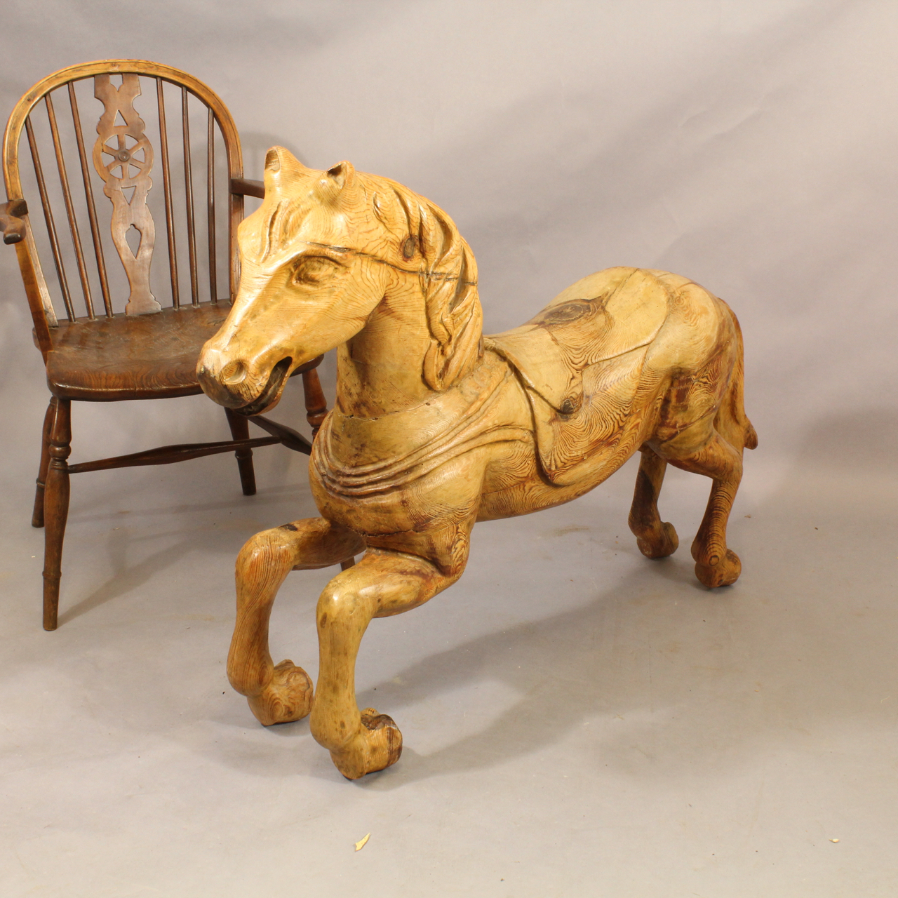 Carved Horse