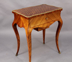 Parquetry Worktable