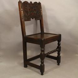 Oak Backstool