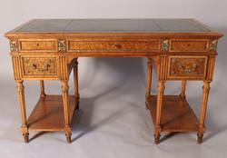 French Pedestal Desk