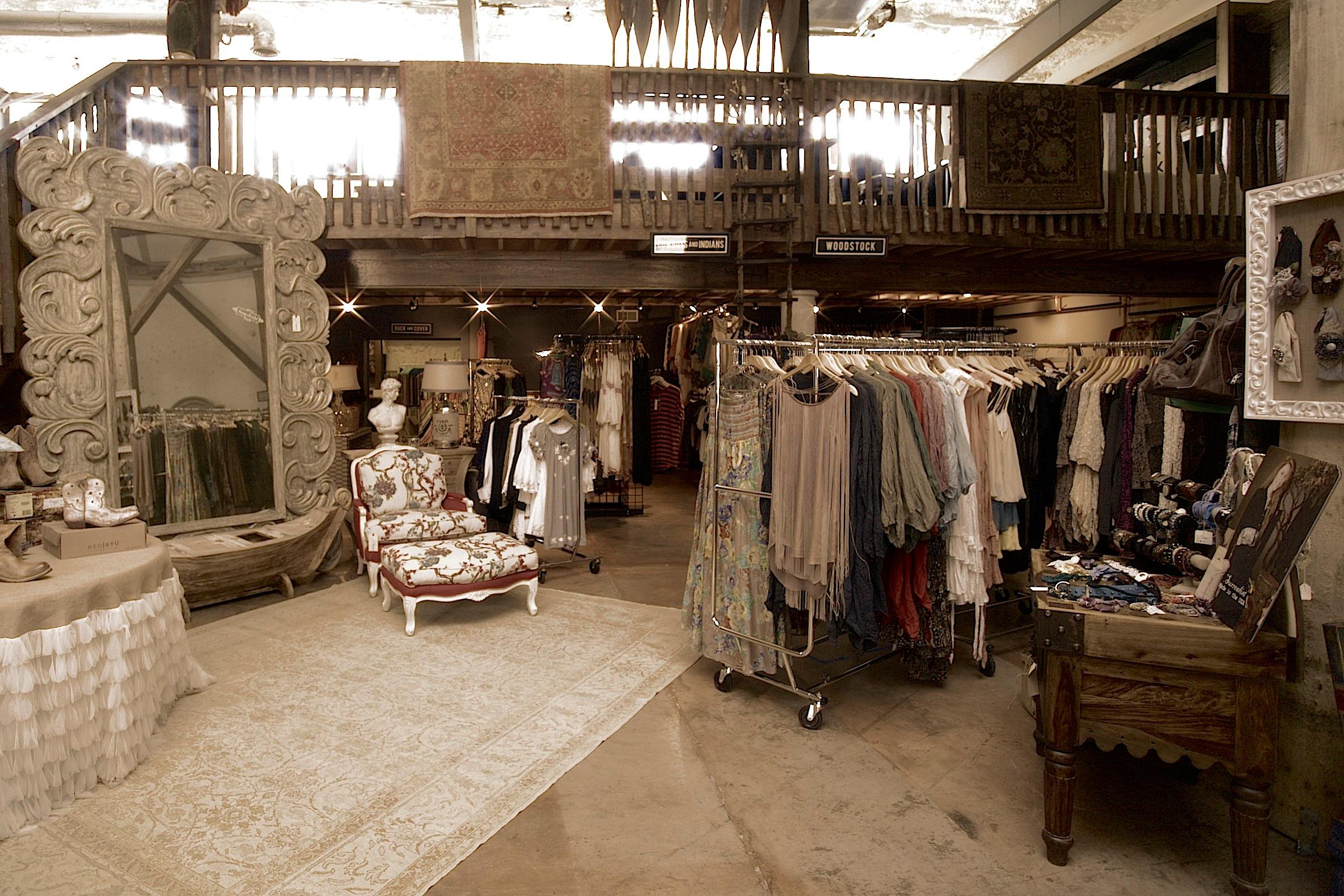 Bleu Jean Boutique Showroom