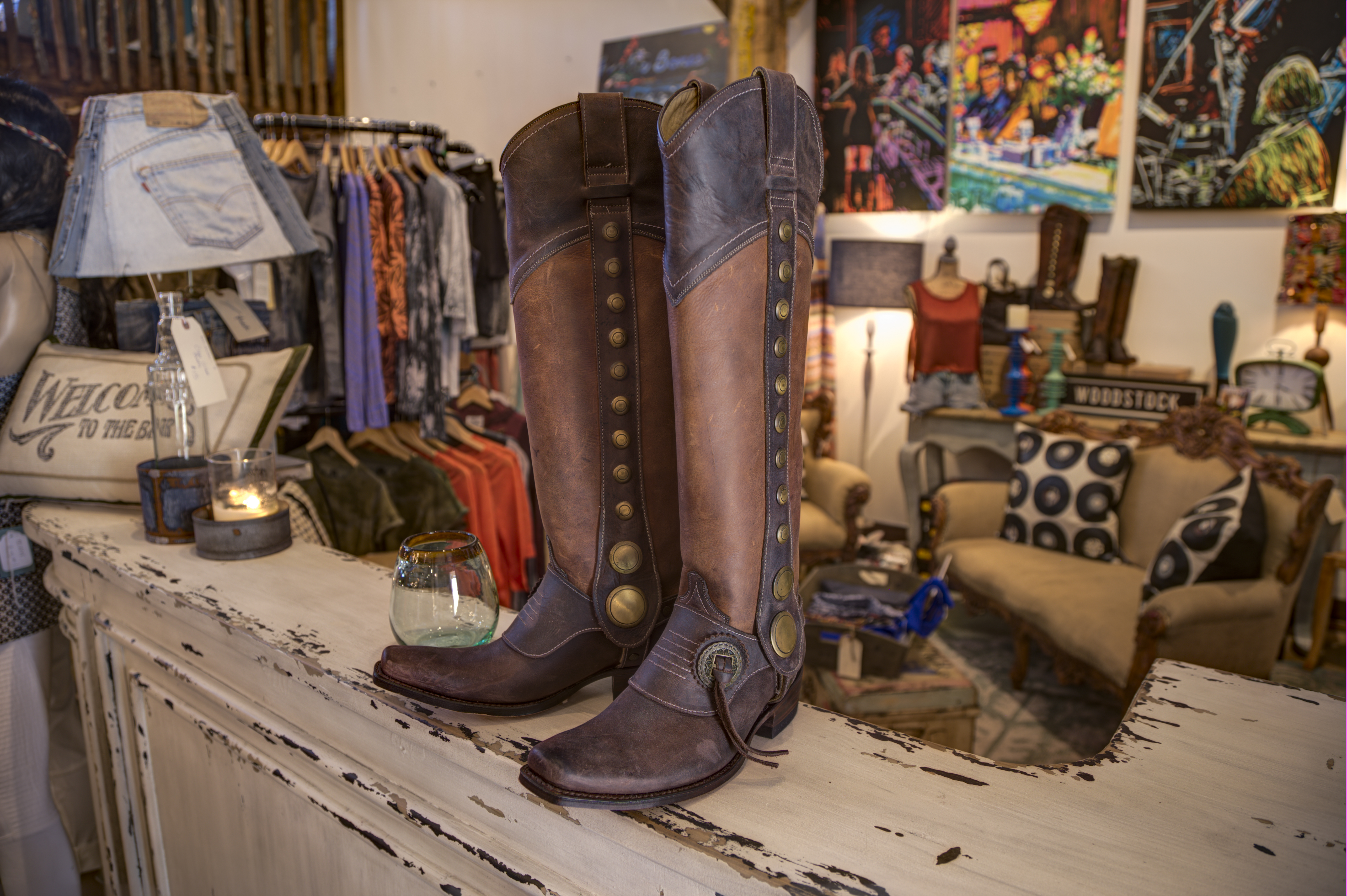 Bleu Jean Company featured Boots