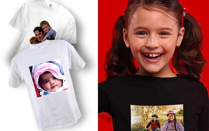 Koszulka z Twoim zdjęciem/napisem Męska