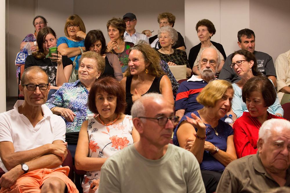 """Pockets of Hope"" update @ Sydney Jewish Museum - 22 Feb 2015"