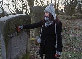 Dr Kamila Klauzinska - Jewish Gravestone in Poland