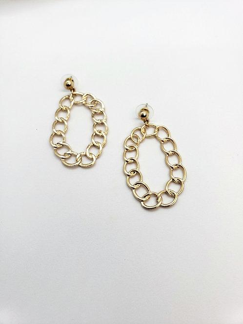 Circle link hoops