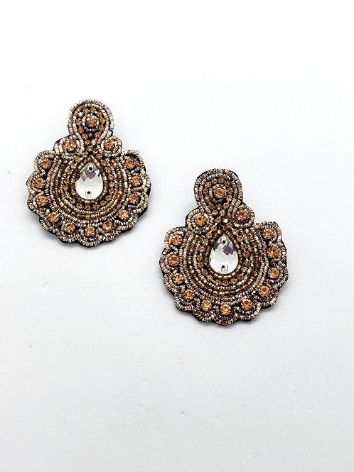 Majesty  beaded earrings
