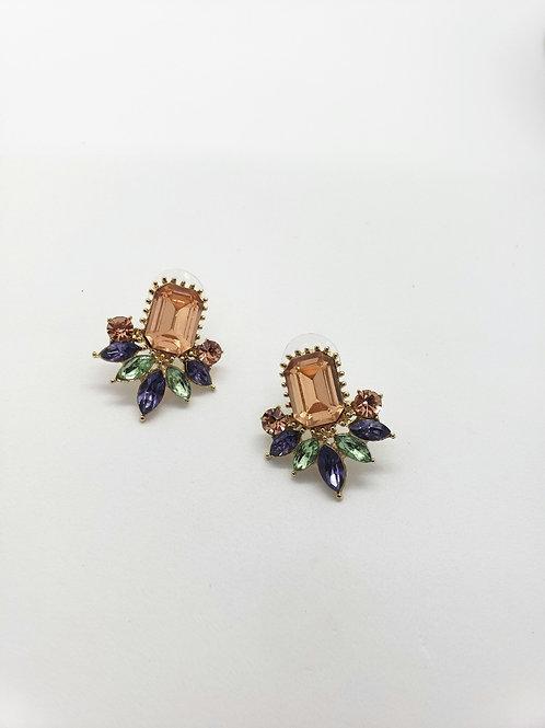 Celeste statement stud earrings