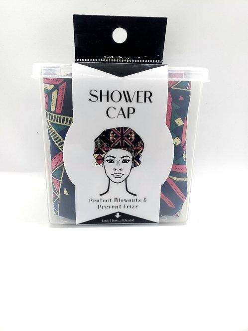 Lifestyle shower cap w/ holder