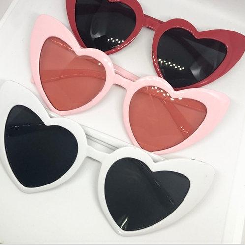 Jaded heart shaped sunnies
