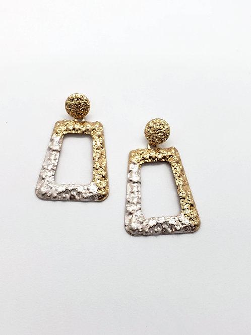 Double trouble statement earrings
