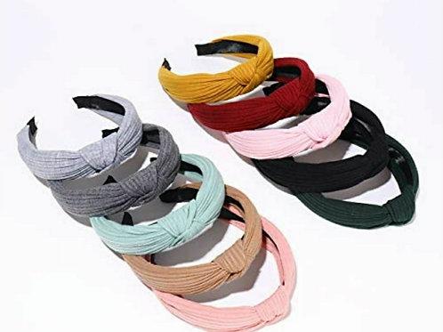 Ribbon Top knot headbands