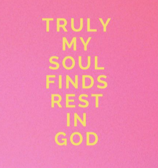 Daily ways to rest in God