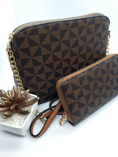 The Paige bag w/ matching wallet