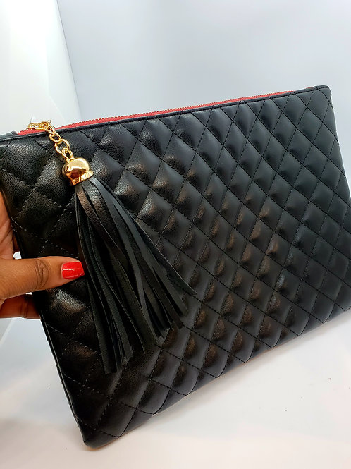 Stevie Quilted clutch