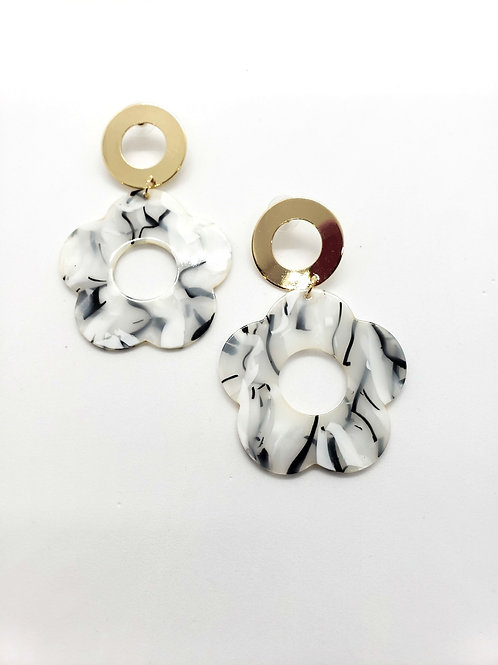 Staci polymer statement earrings