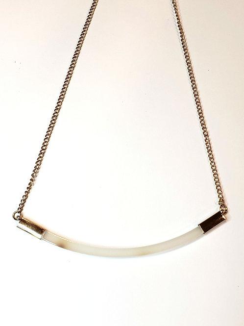Ivory dainty statement necklace