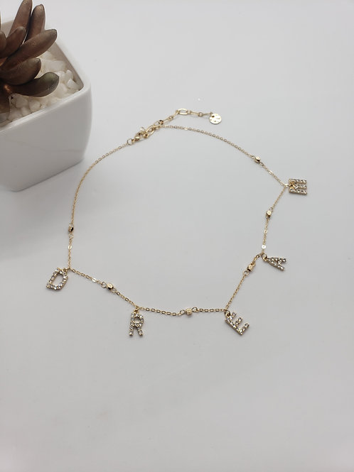 Dream Rhinestone necklace