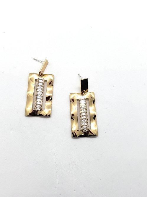 LOLA  baguette earrings