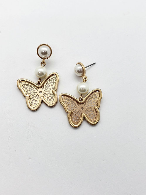 Pearls & butterflies