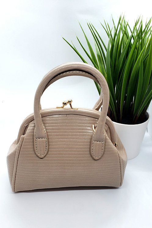 Treece mini croc bag