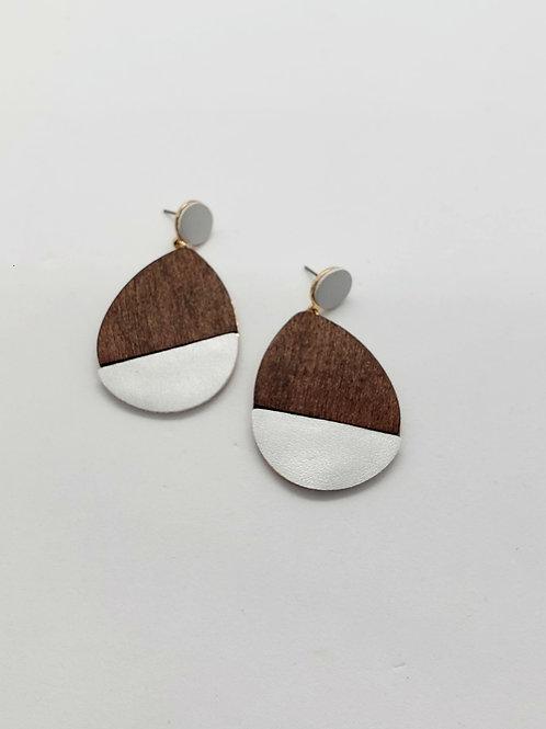 Elle Wood & leather drops