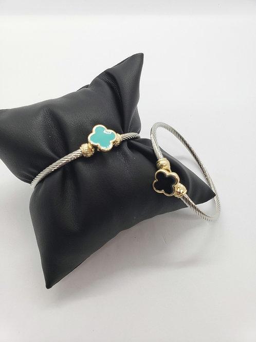 Lucky you charm bracelet