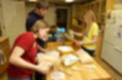 Baking Dessrts at the Retreat Center
