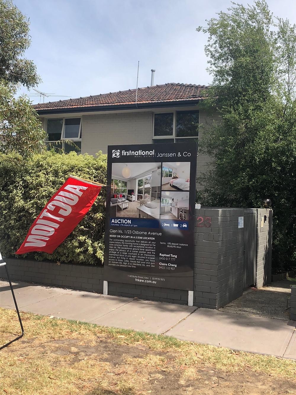 Auction Osborne Avenue