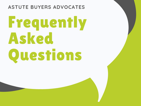 Frequently Asked Questions - About Buyers Agents