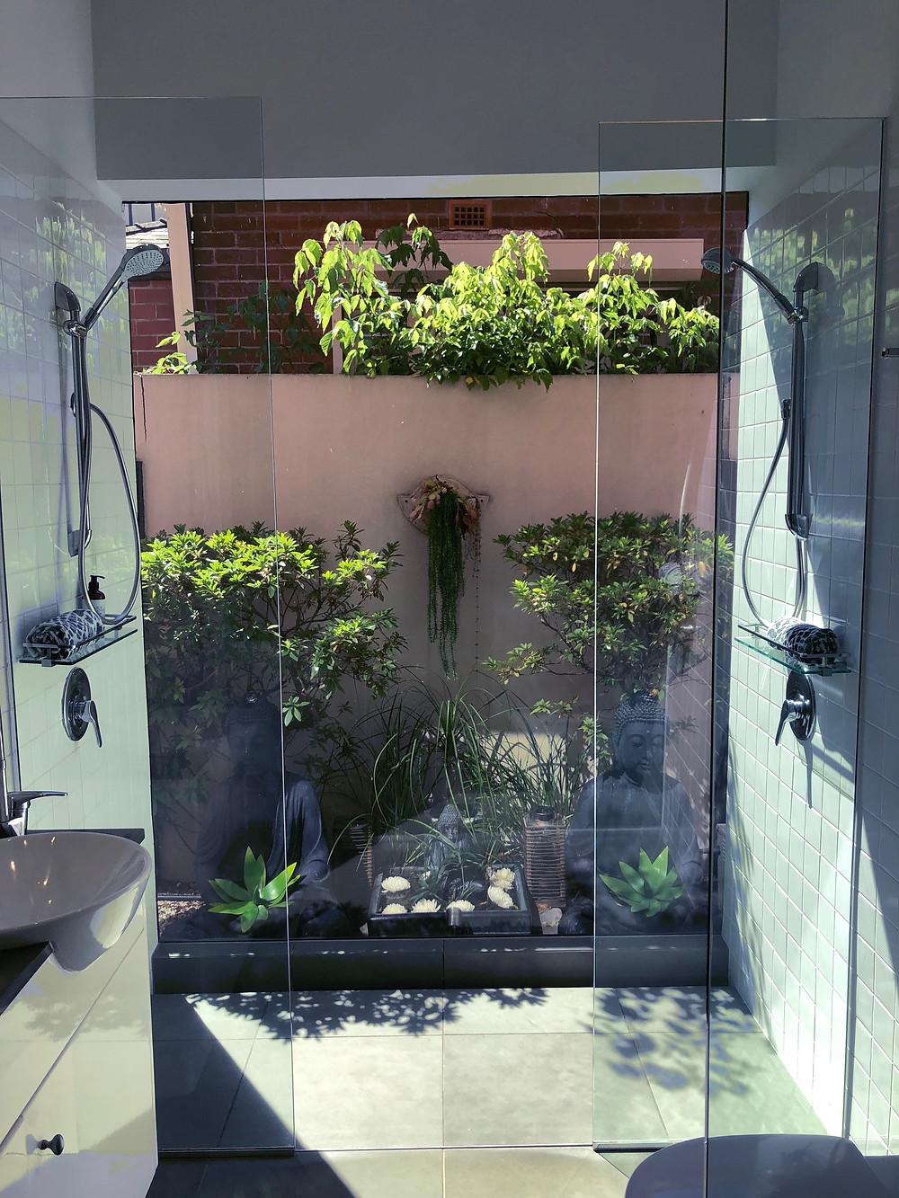 Balinese Inspired Bathroom