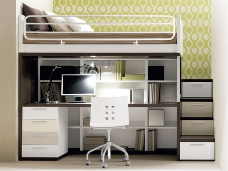Save precious bedroom space with these tips