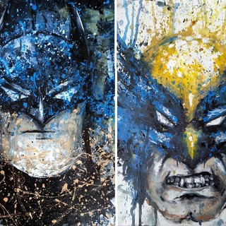 Familiar Faces 5. The Dark Knight & Logan