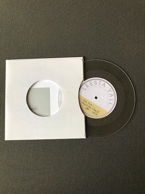 "Handshakes - Leesta Vall 7"" Vinyl Live Recording"