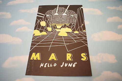 """Mars"" screen print (11x17"")"