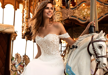 White One Pronovias wedding dress
