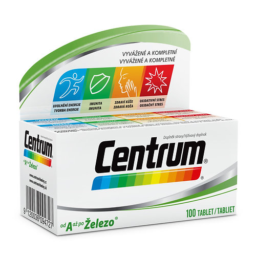 Multivitamín Centrum  AZ 100 tablet