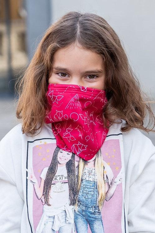 Dětský Antivirový šátek nanoSPACE - růžový