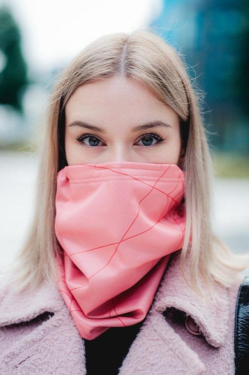 Antivirový šátek nanoSPACE - růžový
