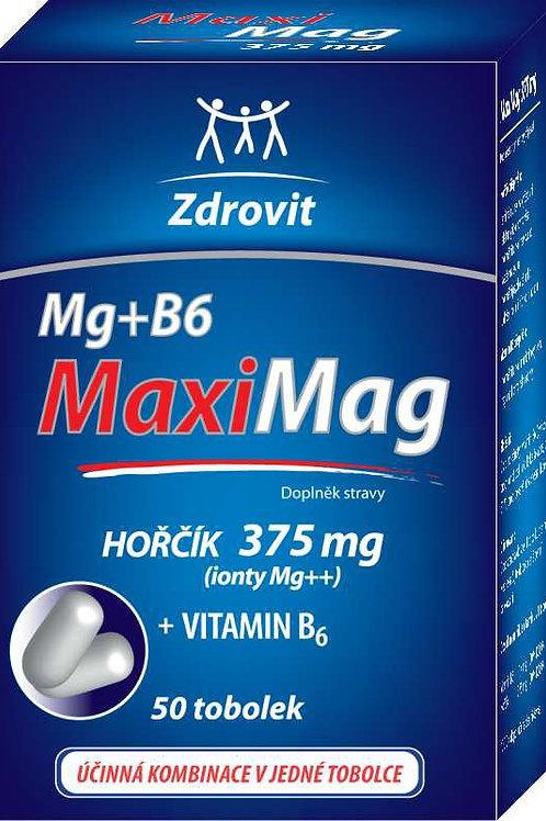 Zdrovit MaxiMag Hořčík 375mg+B6 tob. 50