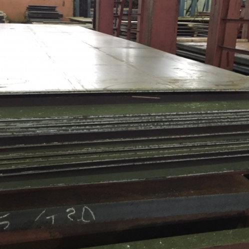 Лист 14х1500х6000 мм (г/к) стальной горячекатанный сталь 3 СП/ПС ГОСТ 19903-74