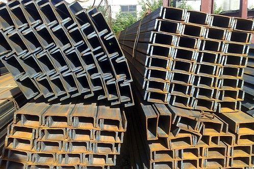 Швеллер 6,5У горячекатаный металлический ст. 3пс/сп ГОСТ 8240-97 длиной 6 метров