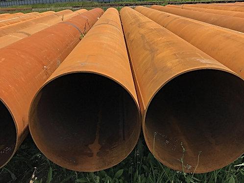 Труба бу 299х8 восстановленная с фаской из под пара, газа, нефти длина 9-12 м