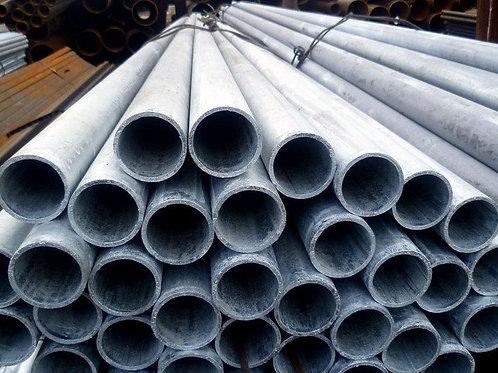 Труба 89х3,5 оцинкованная электросварная, Труба ГОСТ 10704-91 длиной 7,8 метров