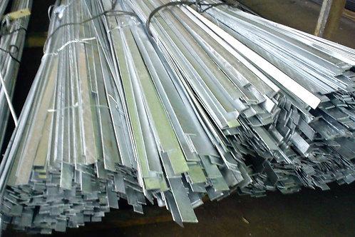 Полоса 40х8 стальная оцинкованная сталь 3пс/сп (Ст1-3пс) ГОСТ 9.307-89 в прутках