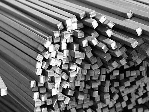 Квадрат 6х6 стальной горячекатанный сталь 3пс/сп ГОСТ 2591-2006 в прутках