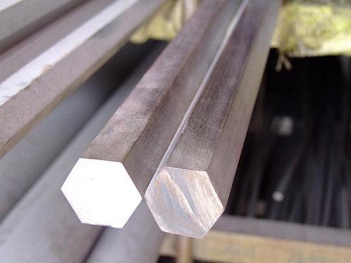 Шестигранник 46 сталь 45 калиброванный холоднокатанный ГОСТ 7417 длиной 6 метров