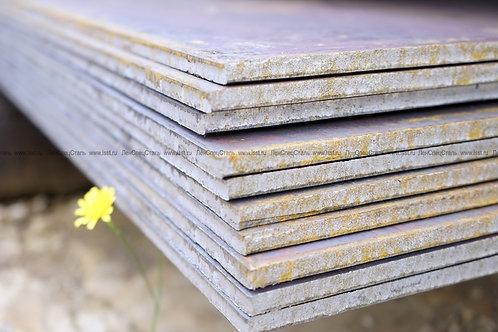 Лист 10х2000х6000 мм (г/к) стальной низколегированный ст. 09Г2С-15 ГОСТ 19903-74