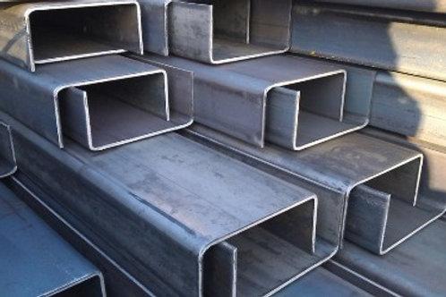 Швеллер гнутый 160x80x6 металлический сталь 3пс/сп ГОСТ 8278-83 длиной 12 метров